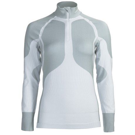 Craft Sportswear Pro Warm Base Layer Top - Lightweight, Zip Neck, Long Sleeve (For Women)
