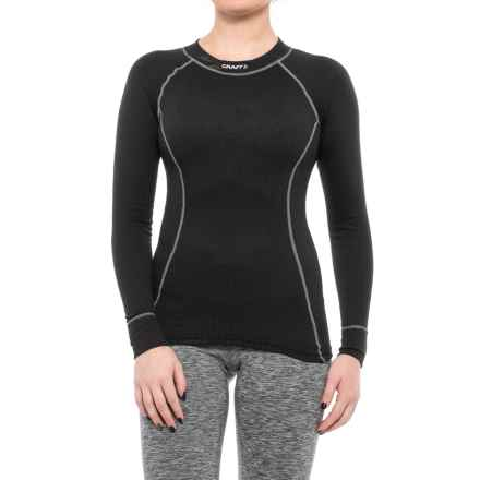 Craft Sportswear Pro Zero Base Layer Top - Long Sleeve (For Women) in Black - Closeouts