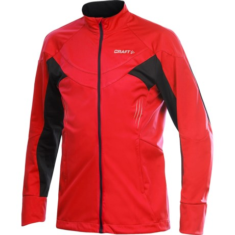 Craft Sportswear PXC Jacket - Windproof (For Men) in Core Red