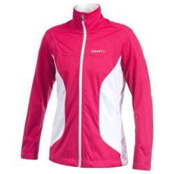 Craft Sportswear PXC Soft Shell Jacket (For Women) in Russian Rose