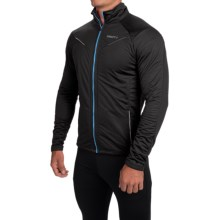 Craft Sportswear PXC Storm Jacket (For Men) in Black/Focus - Closeouts