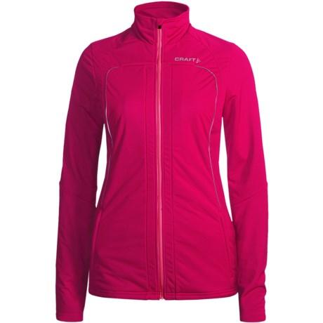 Craft Sportswear PXC Storm Jacket (For Women) in Cherry