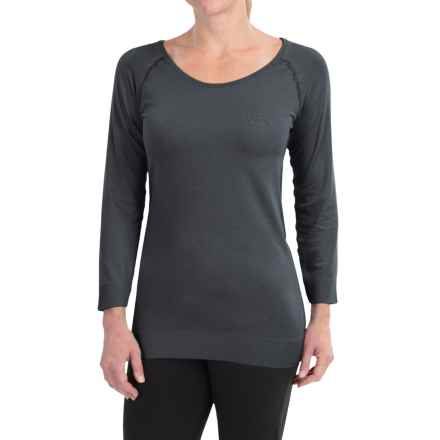 Craft Sportswear Seamless Touch Shirt - 3/4 Sleeve (For Women) in Black - Closeouts