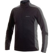 Craft Sportswear Shift Free Pullover - Long Sleeve (For Men) in Black - Closeouts