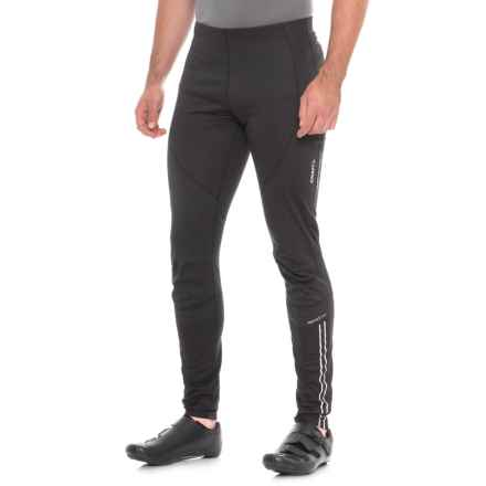 Craft Sportswear Velo Thermal Wind Cycling Tights (For Men) in Black - Closeouts