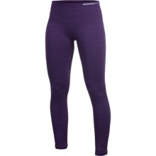 Craft Sportswear Warm CK Base Layer Bottoms - Midweight, Merino Wool (For Women) in Blackberry - Closeouts