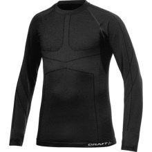 Craft Sportswear Warm CK Base Layer Top - Merino Wool, Long Sleeve (For Men) in Black - Closeouts