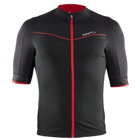 Craft Tech Aero Cycling Jersey Full Zip, Short Sleeve (For Men)