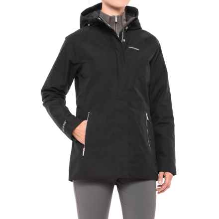 Craghoppers Agetha Gore-Tex® Jacket - Waterproof, Insulated (For Women) in Black - Closeouts