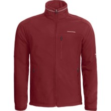 Craghoppers Altitude Jacket - Soft Shell (For Men) in Dark Red - Closeouts