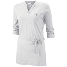 Craghoppers Amelie Tunic Shirt - UPF 30+, Long Roll Sleeve (For Women) in White - Closeouts