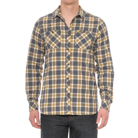 Craghoppers Andreas Checked Shirt - Long Sleeve (For Men) in Ombre Blue Combo