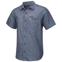 Craghoppers Andres Shirt - Short Sleeve (For Men) in Dusky Green