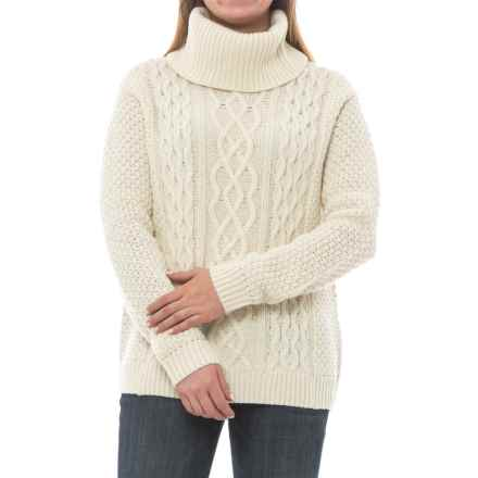 Craghoppers Anja Roll Neck Sweater - Lambswool (For Women) in Calico - Closeouts