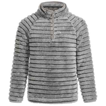 Craghoppers Appleby Pullover Fleece Sweater - Zip Neck (For Little and Big Girls) in Quarry Grey - Closeouts