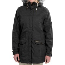 Craghoppers Auton Hooded Jacket - Waterproof, Insulated (For Women) in Black Pepper Marl - Closeouts