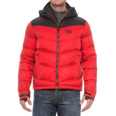 Craghoppers Bear Grylls Arctic Down Jacket - 500+ Fill Power (For Men) in Bear Red/Black - Closeouts
