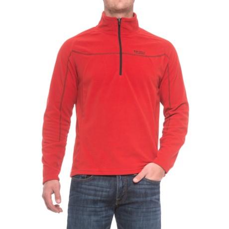 Craghoppers Bear Grylls Original Fleece Sweater - Zip Neck (For Men) in Bear Red