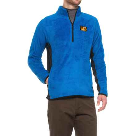 Craghoppers Bear Grylls Polar Fleece Jacket - Zip Neck (For Men) in Extreme Blue - Closeouts