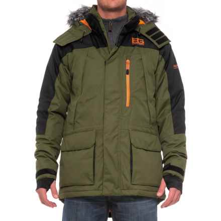 Craghoppers Bear Grylls Polar Jacket - Waterproof, Insulated (For Men) in Adventure Green/Black - Closeouts