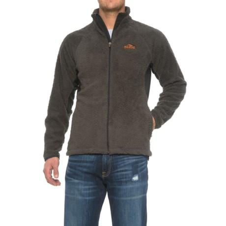 Craghoppers Bear Grylls Survivor Fleece Jacket - Full Zip (For Men) in Black Pepper