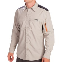 Craghoppers Bear Grylls Trek Shirt - Long Roll-Up Sleeve (For Men) in Metal - Closeouts