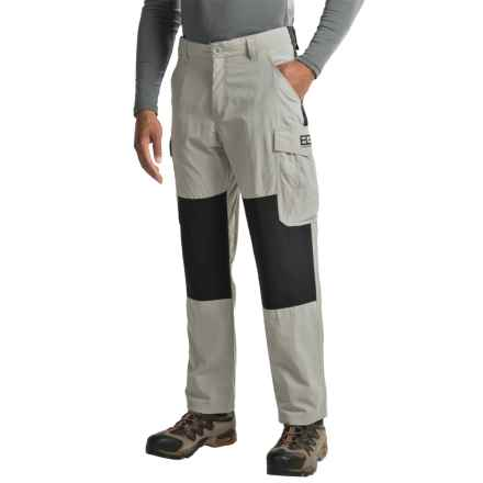 Craghoppers Bear Survivor Trousers - UPF 40+ (For Men) in Metal/Black - Closeouts