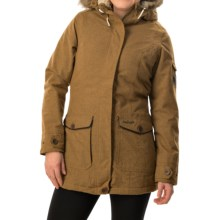 Craghoppers Burley Jacket - Waterproof, Insulated (For Women) in Old Gold Marl - Closeouts