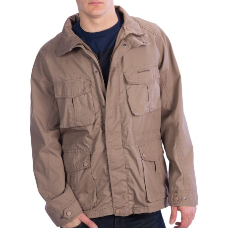 Craghoppers Caballo Jacket - Waxed Cotton (For Men) in Beach