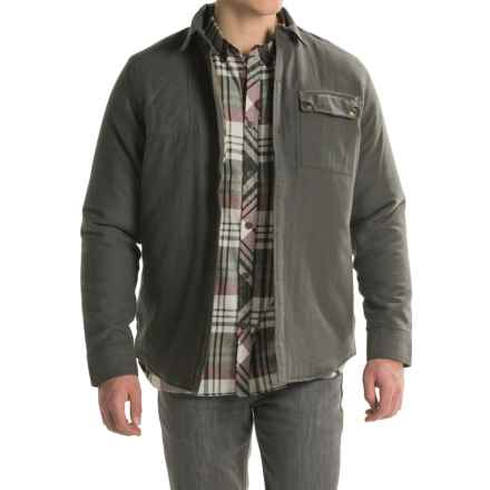 Craghoppers Castleton Shirt - Quilted Lining, Long Sleeve (For Men) in Dark Khaki - Closeouts