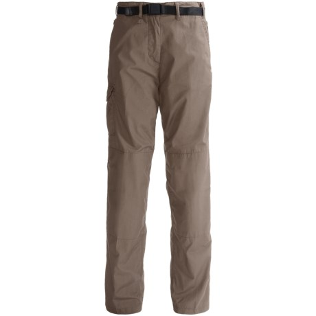 Craghoppers Classic Kiwi Pants (For Women) in Dark Sand