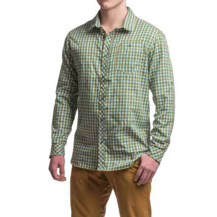 Craghoppers Claude Shirt - UPF 30+, Long Sleeve (For Men) in Lake Green Check - Closeouts