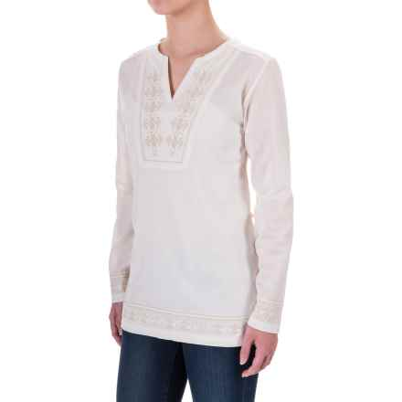 Craghoppers Clemence Tunic Shirt - Long Sleeve (For Women) in Calico - Closeouts