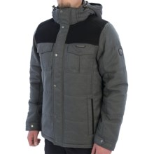Craghoppers Cleveland Jacket - Waterproof, Insulated (For Men) in Black/Granit - Closeouts