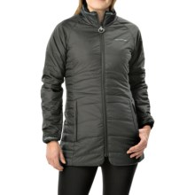 Craghoppers Compresslite Interactive Jacket - Insulated, Long (For Women) in Black - Closeouts