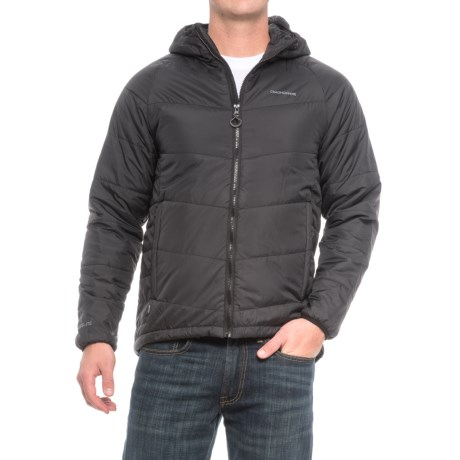 Craghoppers Compresslite Packaway Jacket - Insulated (For Men) in Black/Black