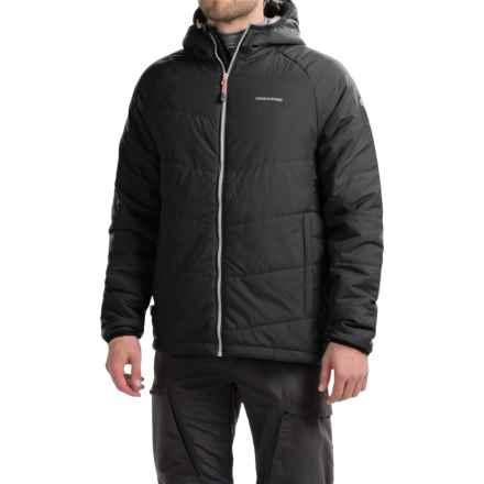Craghoppers Compresslite Packaway Jacket - Insulated (For Men) in Black Pepper/Black - Closeouts