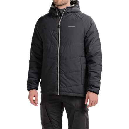 Craghoppers Compresslite Packaway Jacket - Insulated (For Men) in Black - Closeouts