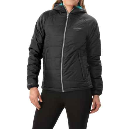 Craghoppers Compresslite Packaway Jacket - Insulated (For Women) in Black/Lagoon - Closeouts