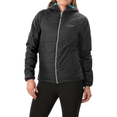 Craghoppers Compresslite Packaway Jacket - Insulated (For Women) in Black/Lagoon
