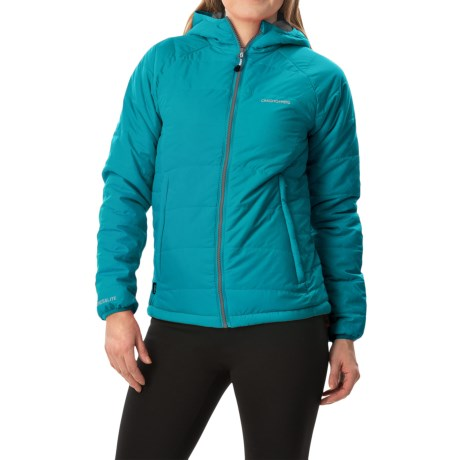 Craghoppers Compresslite Packaway Jacket - Insulated (For Women) in Lagoon