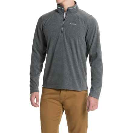 Craghoppers Corey Fleece Jacket - Zip Neck (For Men) in Black Pepper Marl - Closeouts