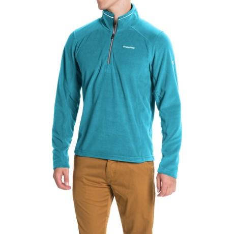 Craghoppers Corey III Pullover Shirt - Zip Neck, Long Sleeve (For Men) in Deep Sea Green