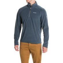 Craghoppers Corey III Pullover Shirt - Zip Neck, Long Sleeve (For Men) in Windsor Blue - Closeouts