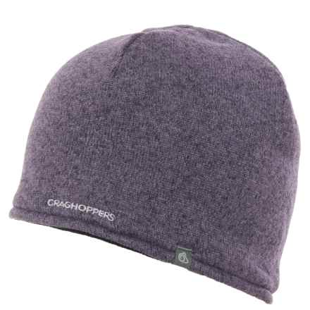 Craghoppers Danewood Beanie (For Men and Women) in Dusk Dewberry Marl - Closeouts