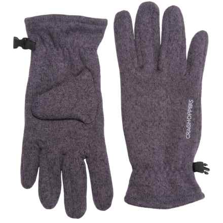 Craghoppers Danewood Gloves (For Men and Women) in Dusk Dewberry Marl - Closeouts