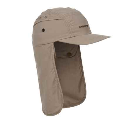 Craghoppers Desert Hat - UPF 40+ (For Kids) in Mushroom - Closeouts