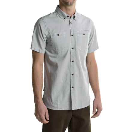 Craghoppers Dumaka Cotton Shirt - UPF 15+, Short Sleeve (For Men) in Quarry Grey - Closeouts