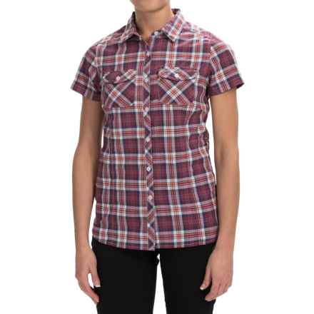 Craghoppers Ellema Shirt - UPF 20+, Short Sleeve (For Women) in Rosepink Combo - Closeouts