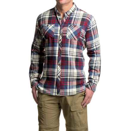 Craghoppers Ellerton Shirt - Long Sleeve (For Men) in Dark Navy - Closeouts